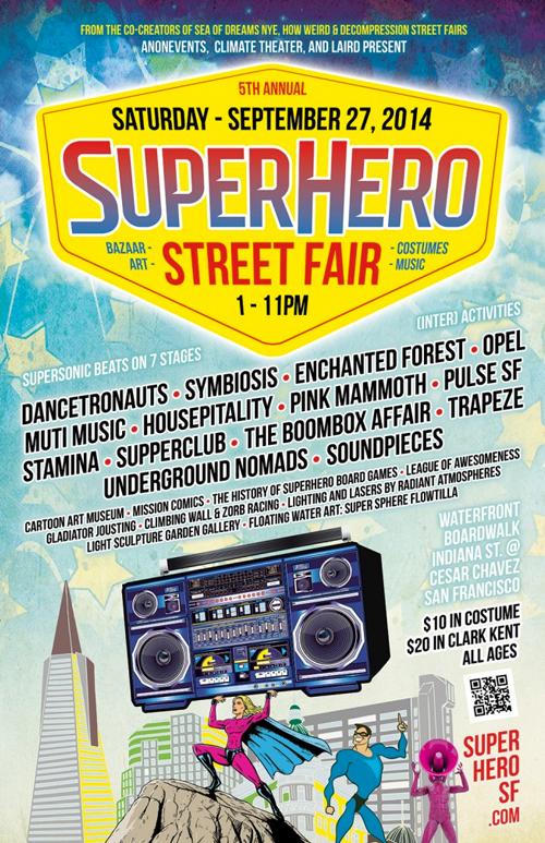 SUPERHERO STREET FAIR